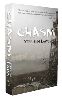 Chasm [signed hardcover] by Stephen Laws